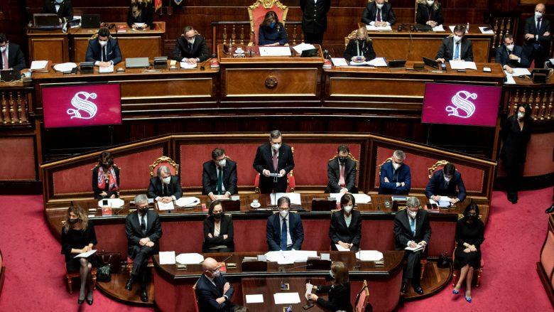 Draghi in Senato